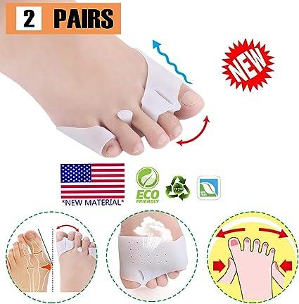 4 PCS... Gel Metatarsal Cushion Toe Separators, Toe Separator Metatarsal Pads