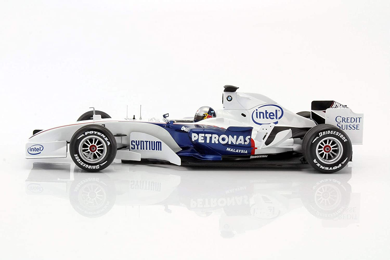 Vettel BMW Sauber C24B BMW World Finale Valencia Formel 1 2006 1:43 Minichamp S