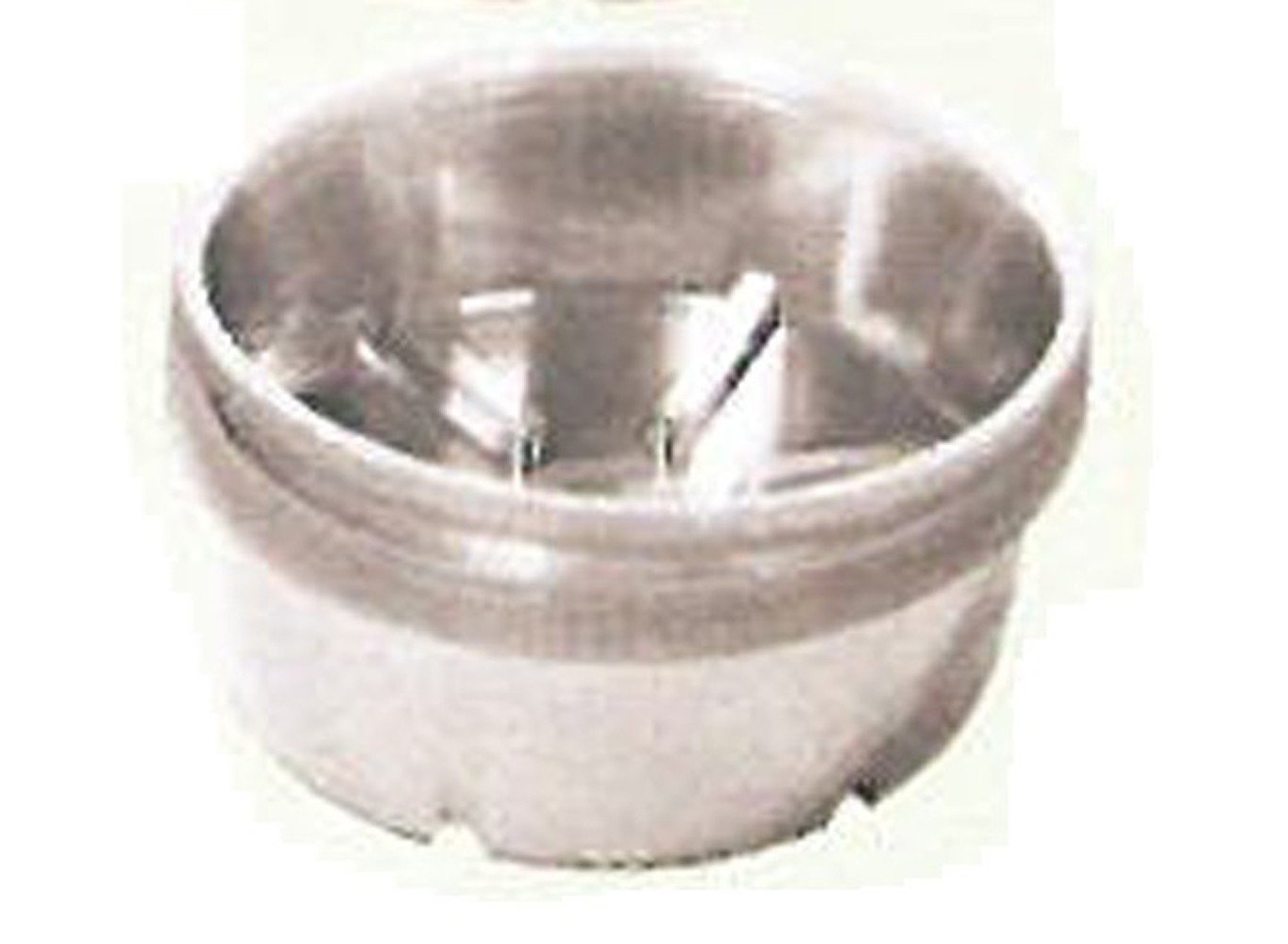Bond Deep Dish Clear Plastic Saucer, 7''