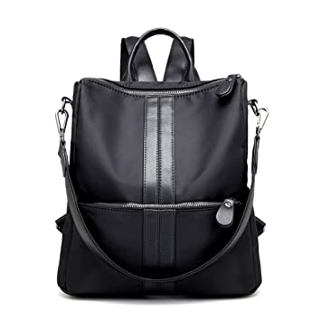 ca24124bb7 S-ZONE Lightweight Women Girls Casual Fashion Backpack Nylon Polyester Rucksack  School Travel Shoulder Bag