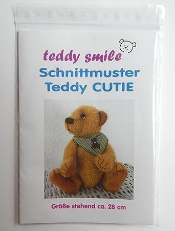 teddy smile - Schnittmuster Teddy Cutie - 28 cm - mit Anleitung Zum ...