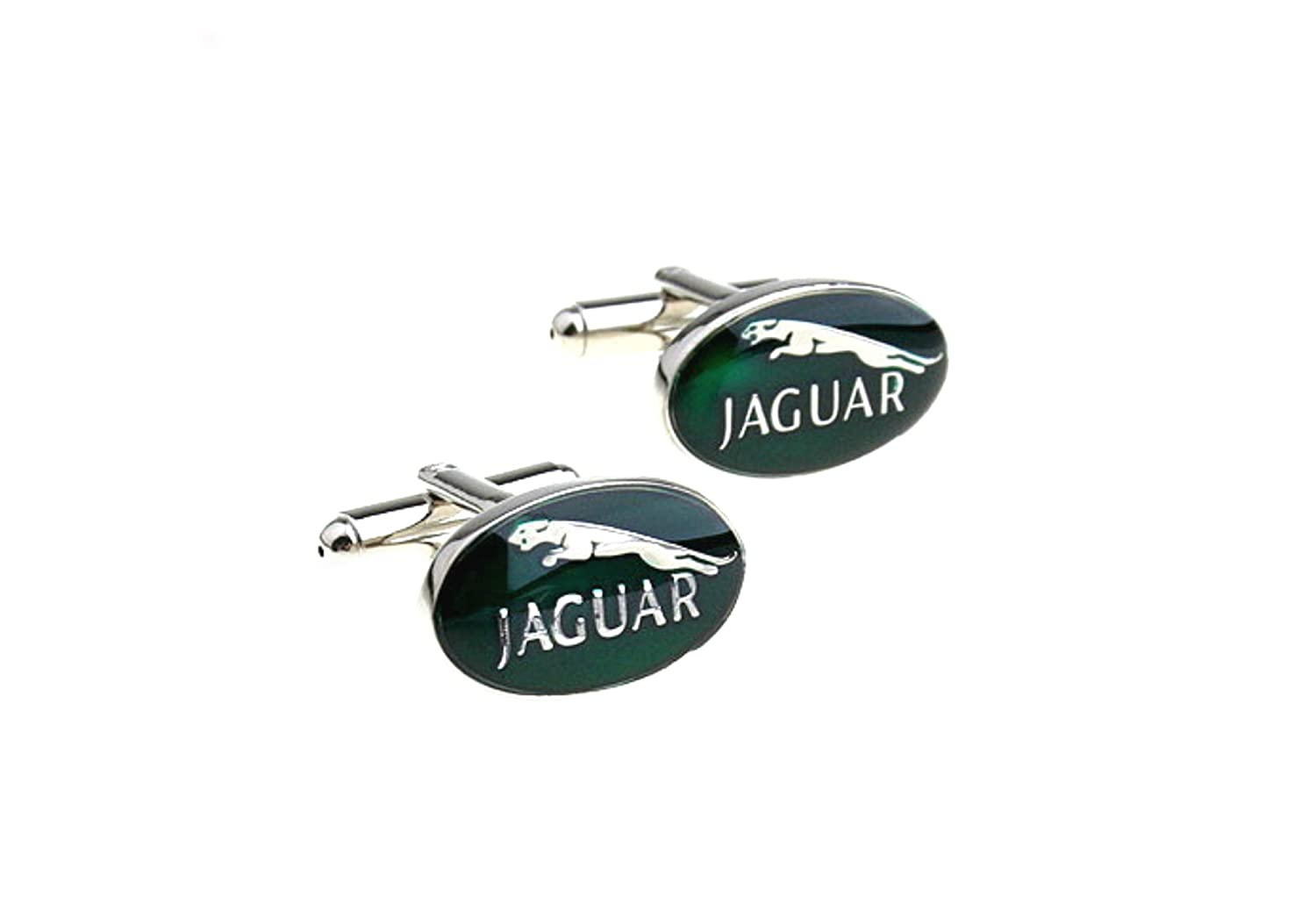 Jaguar Logo Auto Cufflinks w/Gift Box By Athena 123456