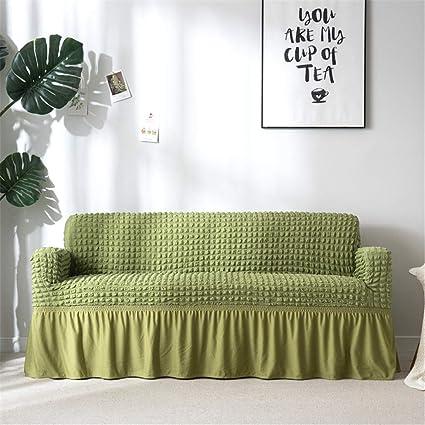 Amazon.com: A\'GRJESFD Jacquard Sofa Slipcover with Skirt ...