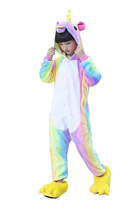 Buy Kids Unicorn Onesies Kigurumi Animal Costume (95 (43-47 inch ... 0ef7cf624