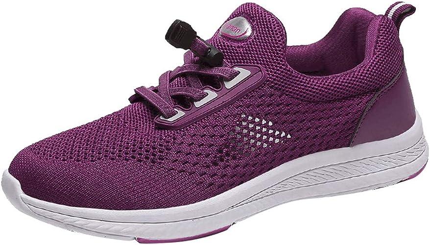 WINLISTING Zapatillas Running Mujer Zapatos Deporte para Correr ...