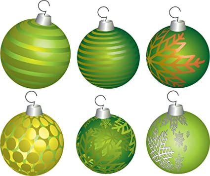 Laminated 28x24 inches Poster  Christmas Holiday Ball Decoration Ornament  Green Gold Silver White Snowflake Xmas 02c837166