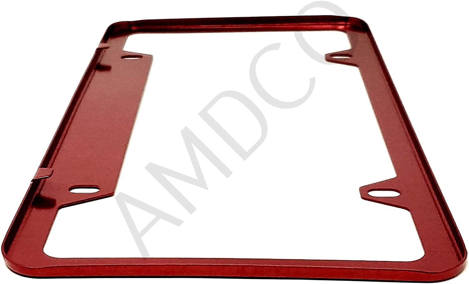 AMDCO Pack of 1 for lfa nx UX rx 270 460 470 gx lx License Plate Cover Holder Frame Badge Stickers Decals with Strong 3M Includes Instructions Measure Before Purchase Fitment RED