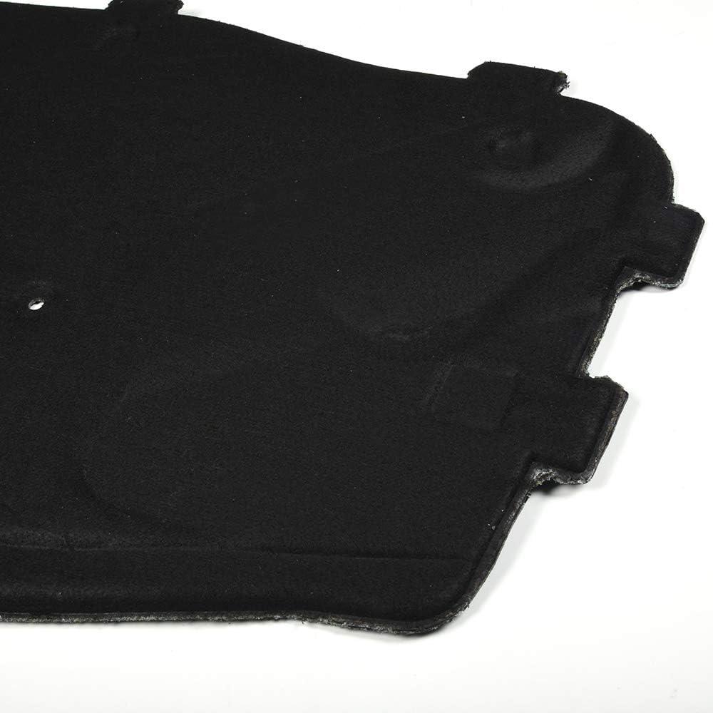 VRracing Front Engine Hood Heat Sound Insulation Foam Pad for BMW E46 320i 323Ci 325i 325xi 328i 328is 330i Black