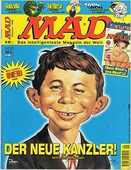 Mad Comic Magazin Satire 1 Der Neue Kanzler Alfred E Neuman
