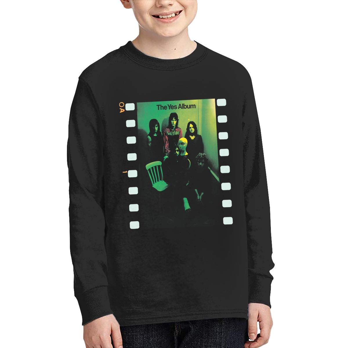 Youth Y-ES Long Sleeves Shirt Boys Girls