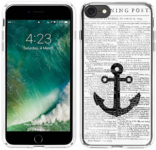 Case for iPhone 6S Anchor, Hungo Compatible Soft TPU Silicone Protector Cover Case Replacement for iPhone 6 / 6S Bible Verses Vintage Anchor