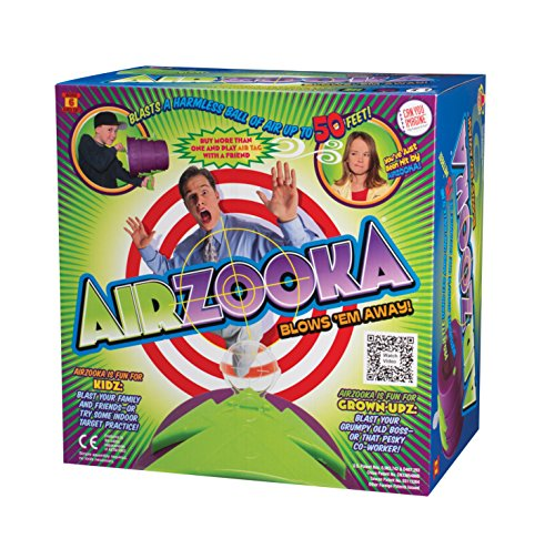 Image of the Can You Imagine Airzooka Toy (Black/Silver)