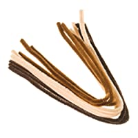 """EFCO """"Light Brown, Middle Brown"""" Pipe Cleaners, Wire, Assorted, 8 mm/50 cm, 9-Piece"""