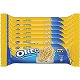 Oreo Gold Vanilla Cream Biscuit, 120g (Pack of 7)