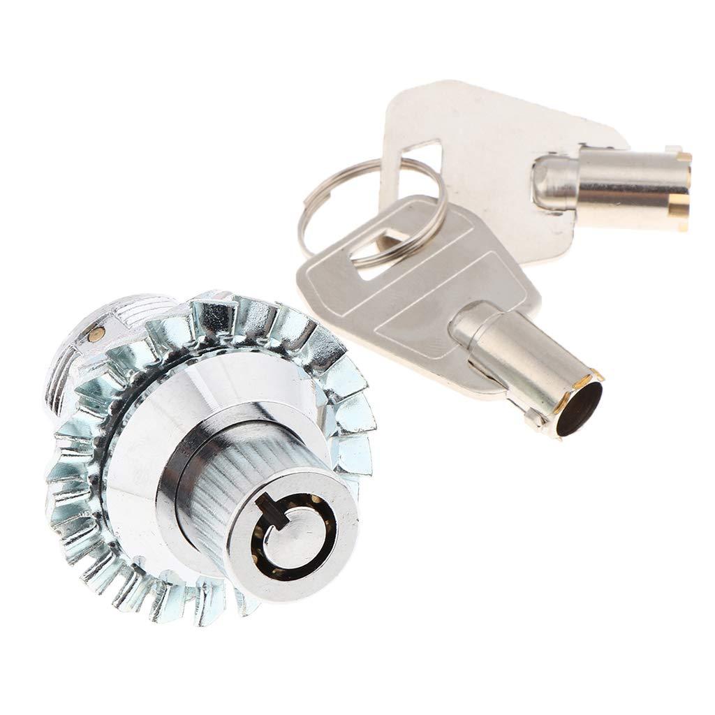 Schrank Schr/änken Shiwaki Tubular Cam Lock f/ür Pinball Arcade Machine T/ür Schubladen Toolbox