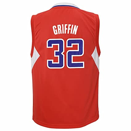 7f3e2fd04b6 Blake Griffin Los Angeles Clippers NBA Adidas Red Official Away Road Replica  Basketball Jersey For Youth