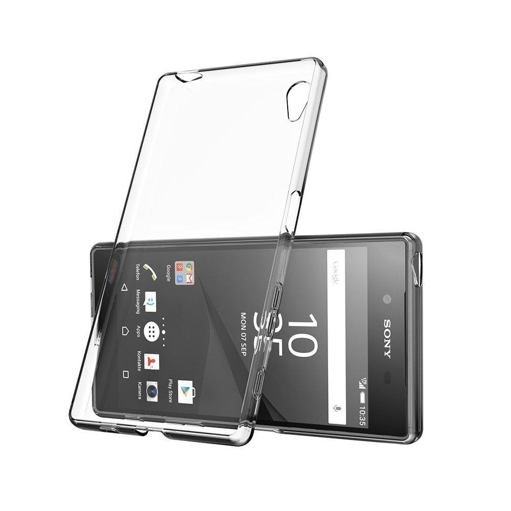 Cas De Gel Transparent Pour Sony Xperia E5 fDfy5