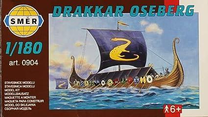 Amazon.com: SMER 1: 180 drakkar Oseberg Kit de modelo de ...