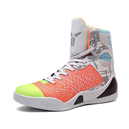 cbcce31c7e80e Amazon.com: Hy Men's High-top Basketball Shoes Spring/Fall New ...