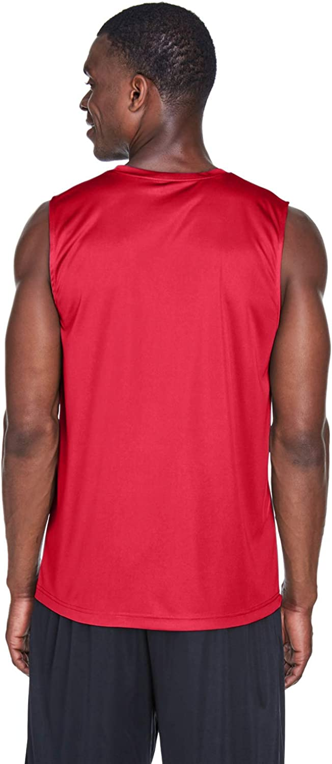 LIFEGUARD Officially Licensed Mens Performance Active Muscle Tank Moisture Wicking