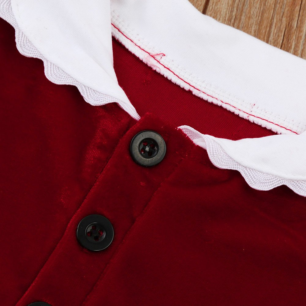 1-6 años Niña de Navidad Disfraz Ropa Arriba Tops + Pantalones Conjunto de Pana: Amazon.es: Ropa y accesorios