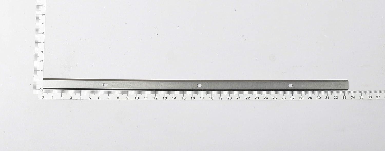 2 St/ück//Scheppach Dickenhobel PLM1800 Hobelmaschine Ersatzhobelmesser 18/% HSS
