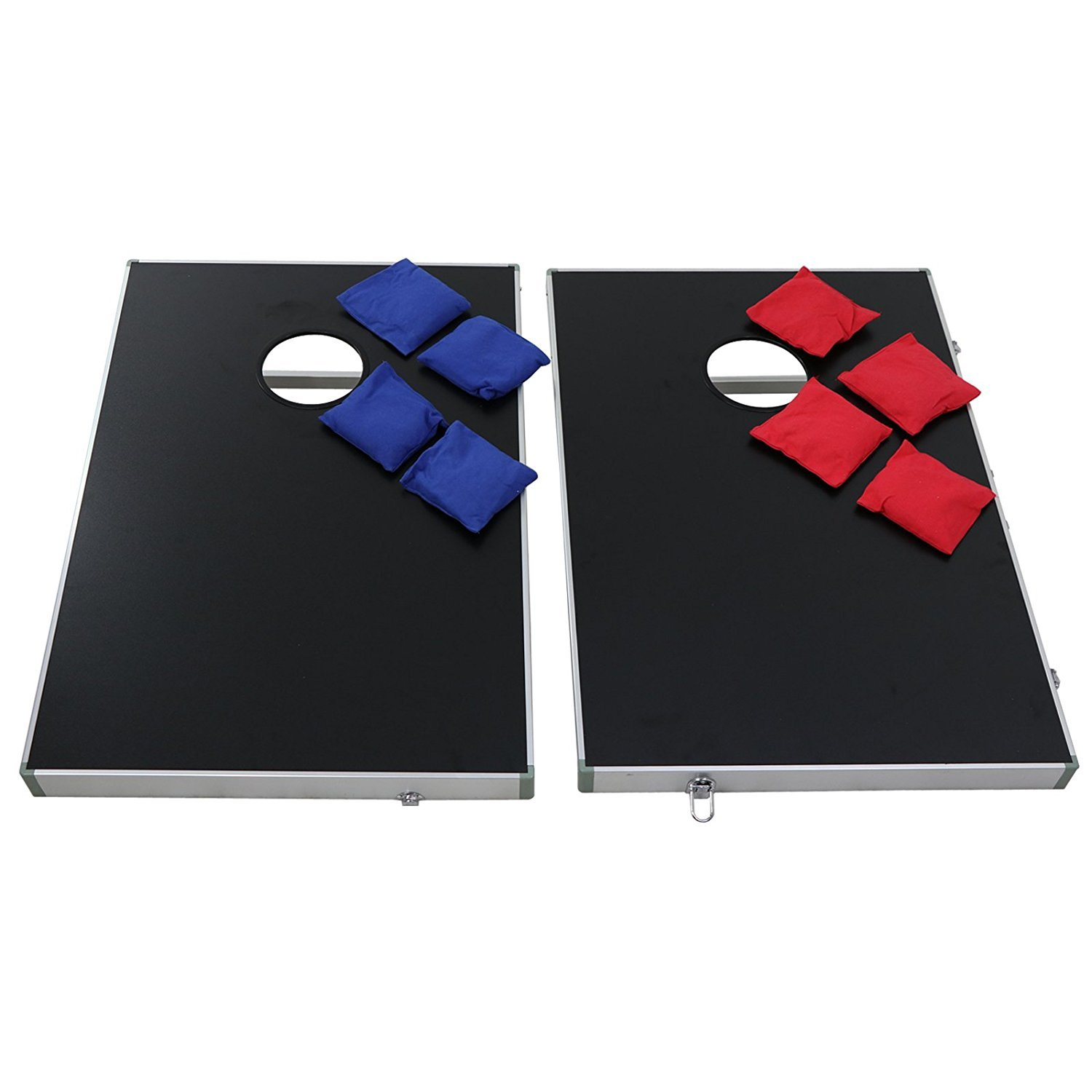 ZENY 3' x 2' Cornhole Bean Bag Toss Game Set with Carrying Case Aluminum Lightweight Corn Hole Board by ZENY (Image #2)