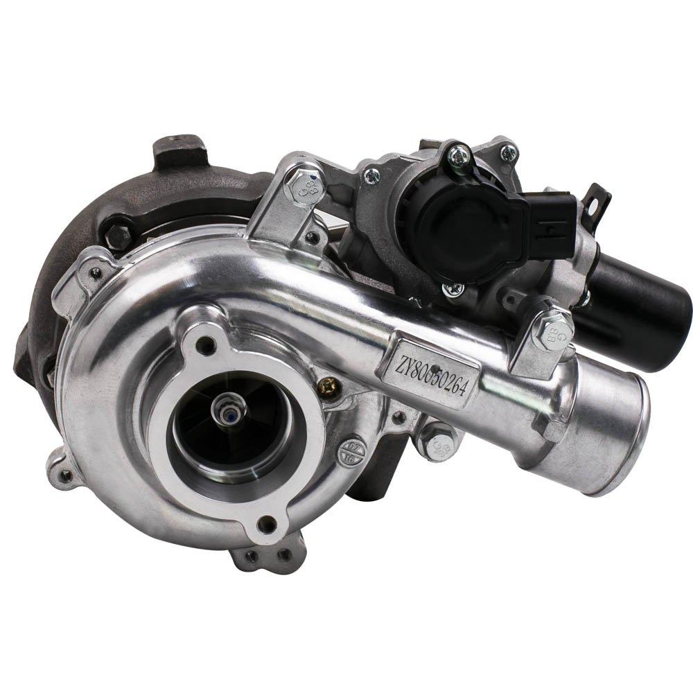 maXpeedingrods Turbocompresor para Toyota Hilux Land Cruiser D-4D 1KD-FTV 3.0L + Electric Valve Turbo CT16V: Amazon.es: Coche y moto
