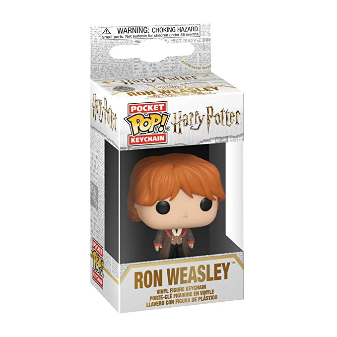Funko Pop! Keychains: Harry Potter - Ron (Yule Ball), Multicolor