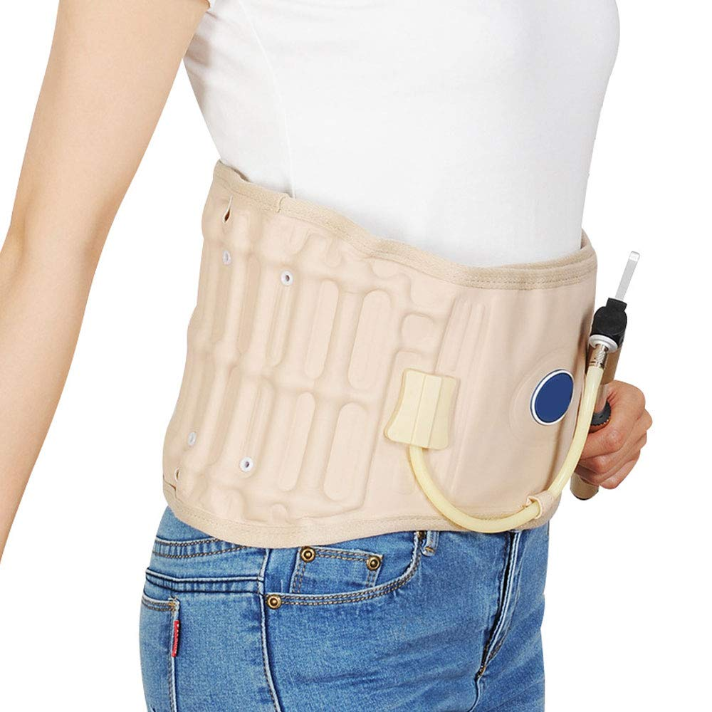 Latest Decompression Belt Back Brace Lumbar Support & Extender Belt,One Size for Waist