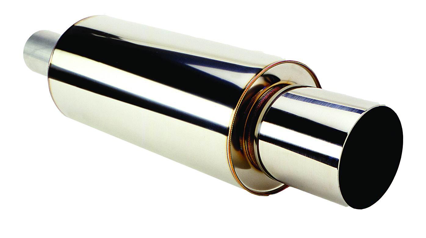 HKS 3106-EX007 Universal Stainless Hi-Power Muffler by HKS (Image #1)