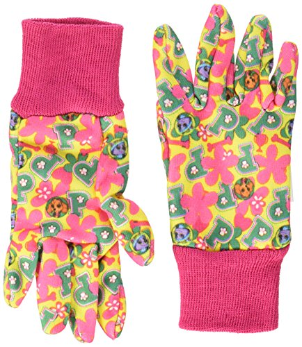 MidWest Quality Gloves PWG102T-T-AZ-6 Nickelodeon Paw Patrol Girls Cotton Jersey Glove, Toddler, Multicolor (Garden Childrens Glove)