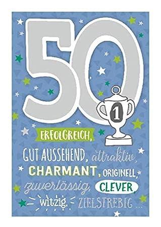 Depesche 5698.066 Tarjeta de felicitación con música, 50 ...