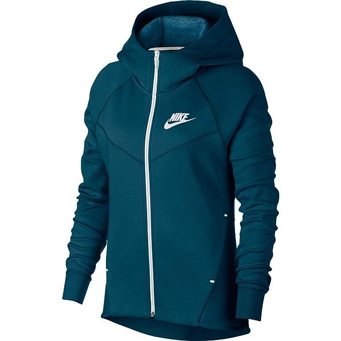 Amazon.com: Nike Tech - Sudadera con capucha para mujer ...
