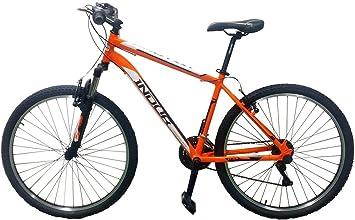 Esmaltina 2665403031 - montain Bike Hombre indur 27,5 Naranja ...