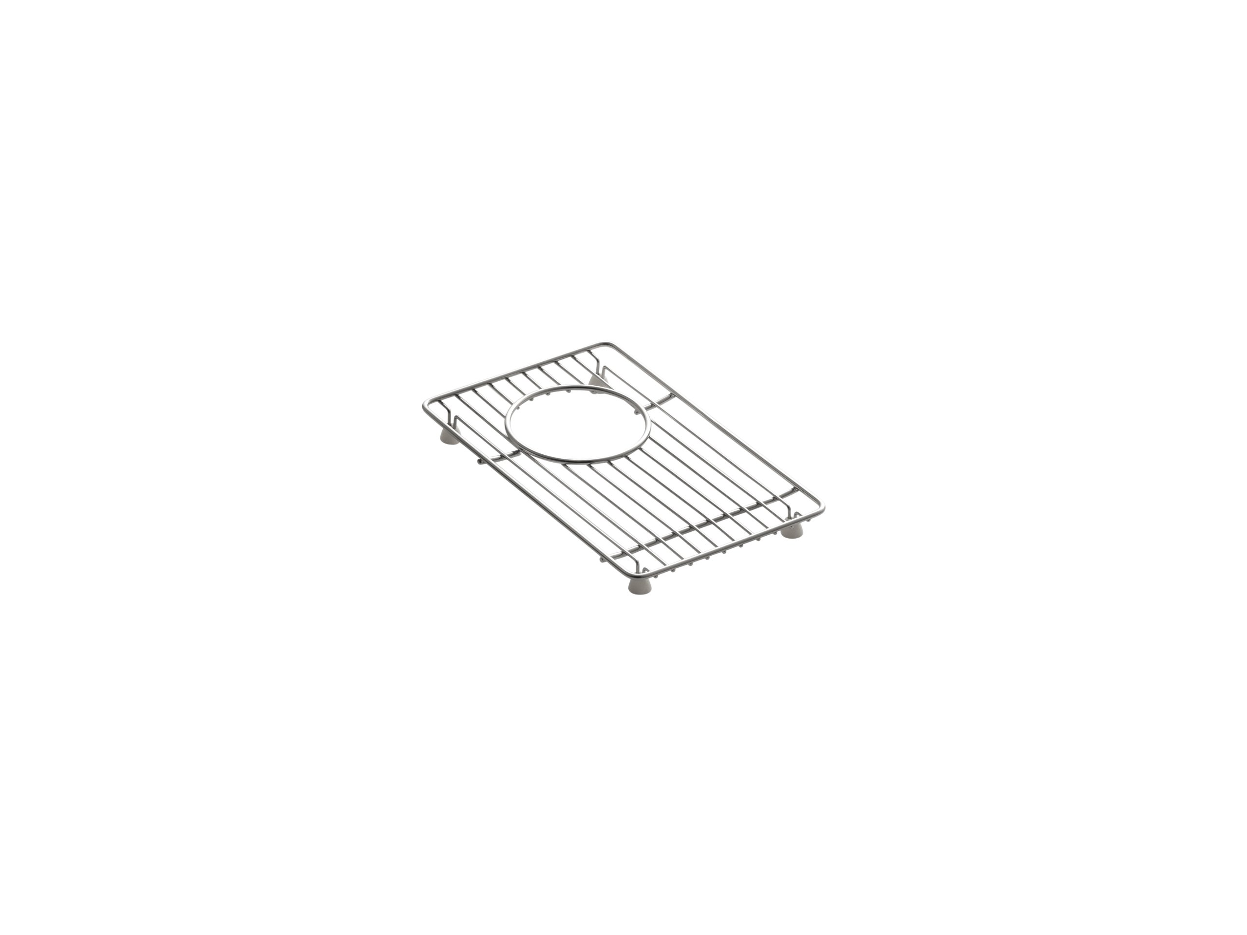 Kohler K-6163-ST Bottom Basin Rack for Indio K-6411, Stainless Steel by Kohler