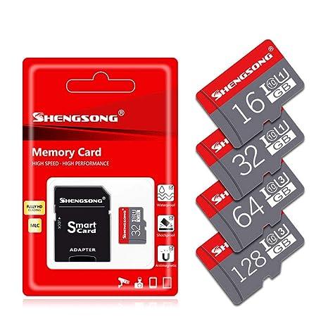LJ2 Tarjeta Micro SD, Tarjeta Flash TF 16GB / 32GB / 64GB / 128GB ...