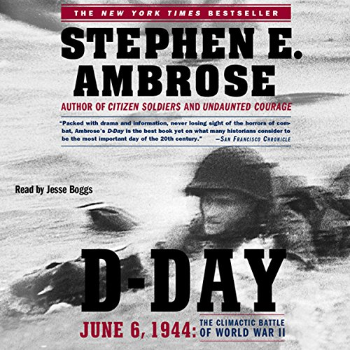 D-Day: June 6, 1944: The Climactic Battle of WW II Audiobook [Free Download by Trial] thumbnail