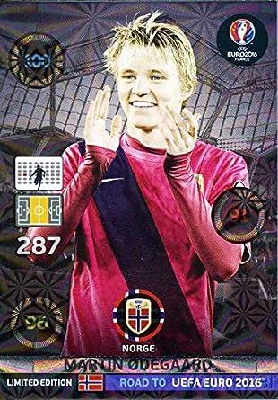 Limited Edition Panini Road to UEFA EURO 2016 Martin Ødegaard