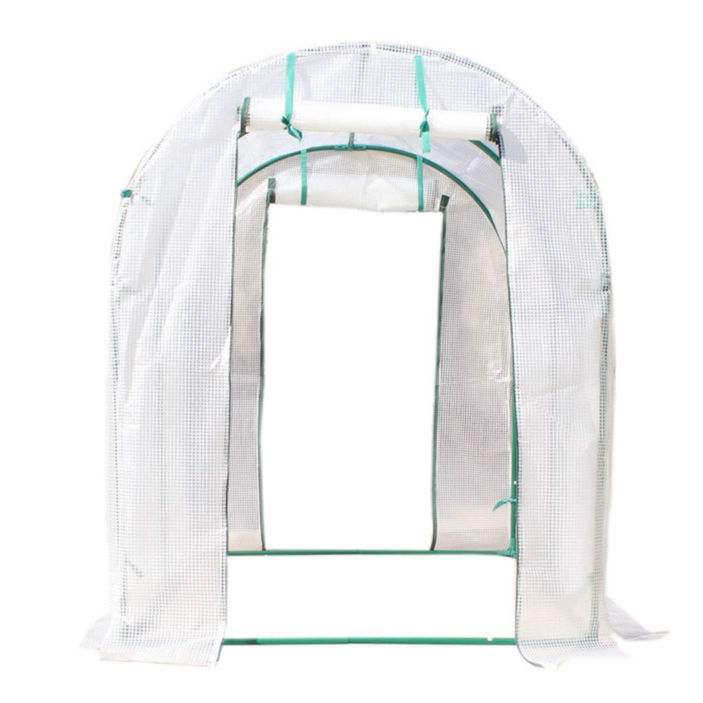 Miniserre Serra da Giardino Balcone Walk-in Portable Lawn, Garden verdehouse con irrigazione a Goccia Indoor Outdoor Plant Flower Grow Tenda PE Cover Zipper Roll Up (Dimensioni   200×150×180cm)