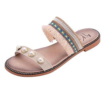 e6e5d28c1 Amazon.com  SUKEQ Women s Flat Sandal