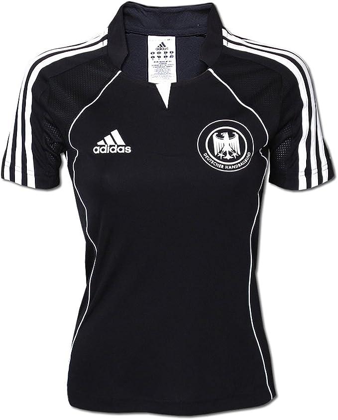 adidas 613531 DHB - Camiseta de la selección alemana de balonmano negro Talla:44/L: Amazon.es: Deportes y aire libre