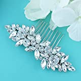 Swarovski Crystal Marquise Rhinestones Wedding Comb