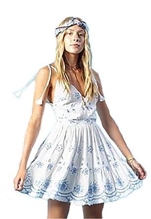 Winston White Ivy Skater Dress in French Blue at Amazon Women s ... 37732ba96