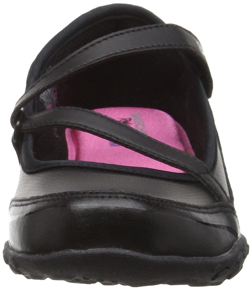 Skechers Breathe Easy Mary Jane, Sandali da Ragazza, Colore Nero (BBK - nero), Taglia 20.5 EU (4 UK)