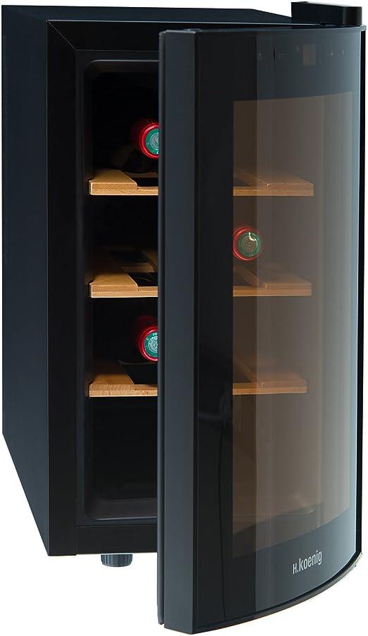 H.Koenig AGE8WV - Vinoteca 8 Botellas, Pequeña, Con Capacidad de ...