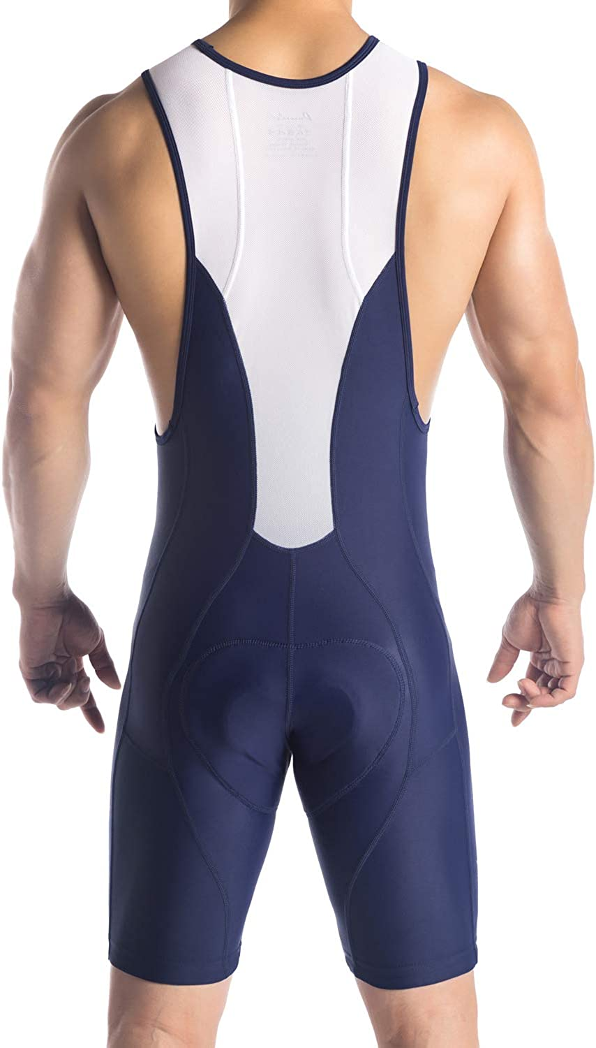 Excellent Performance and Better Fit Przewalski Men/'s 3D Padded Cycling Bike Bib Shorts