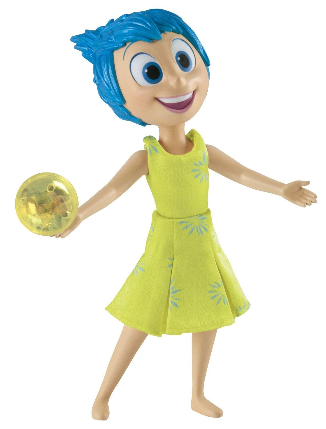 Disney Pixar Inside Out Large Figure, Joy By Tomy HST