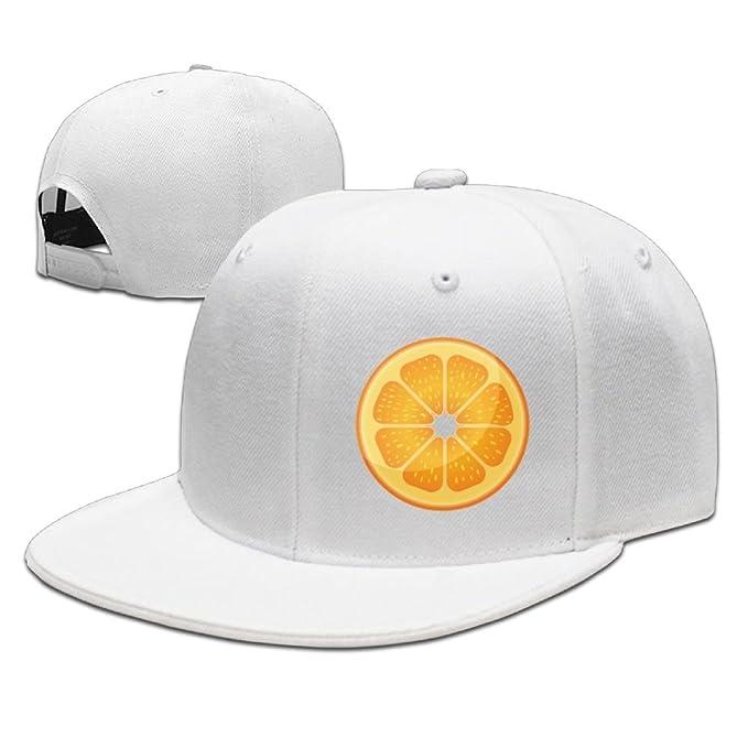 c9bc1dfd19c The Orange Slice Cotton Classic Plain Baseball Cap Unisex Cotton Hat For  Men   Women Adjustable   Unstructured For Comfort Low Profile Polo Style   ...