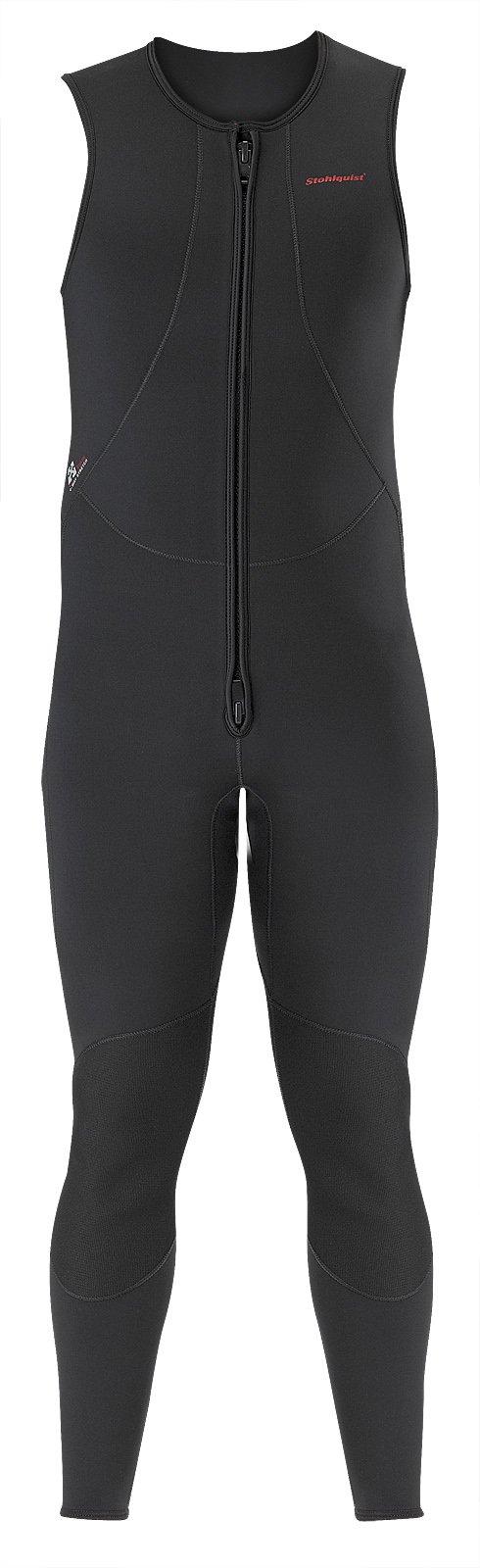 Stohlquist Men's Rapid John Wetsuit, Black, XX-Large by Stohlquist Waterware